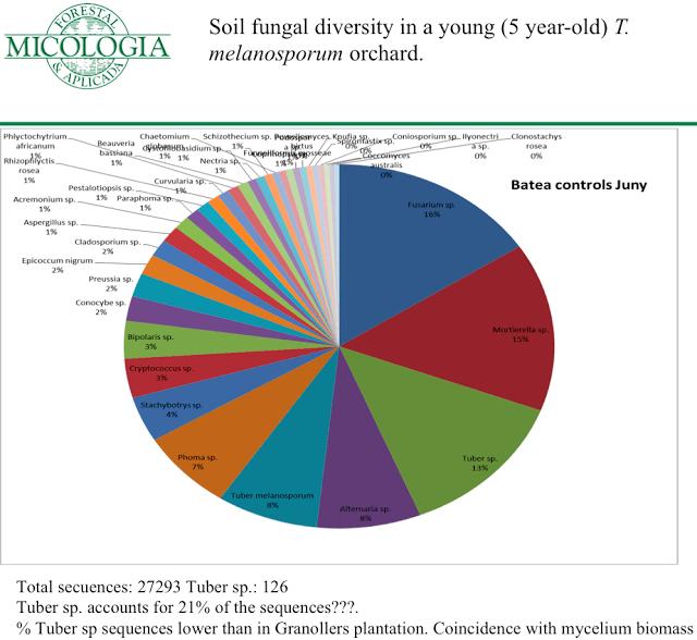 Metagenómica y biodiversidad en las truferas