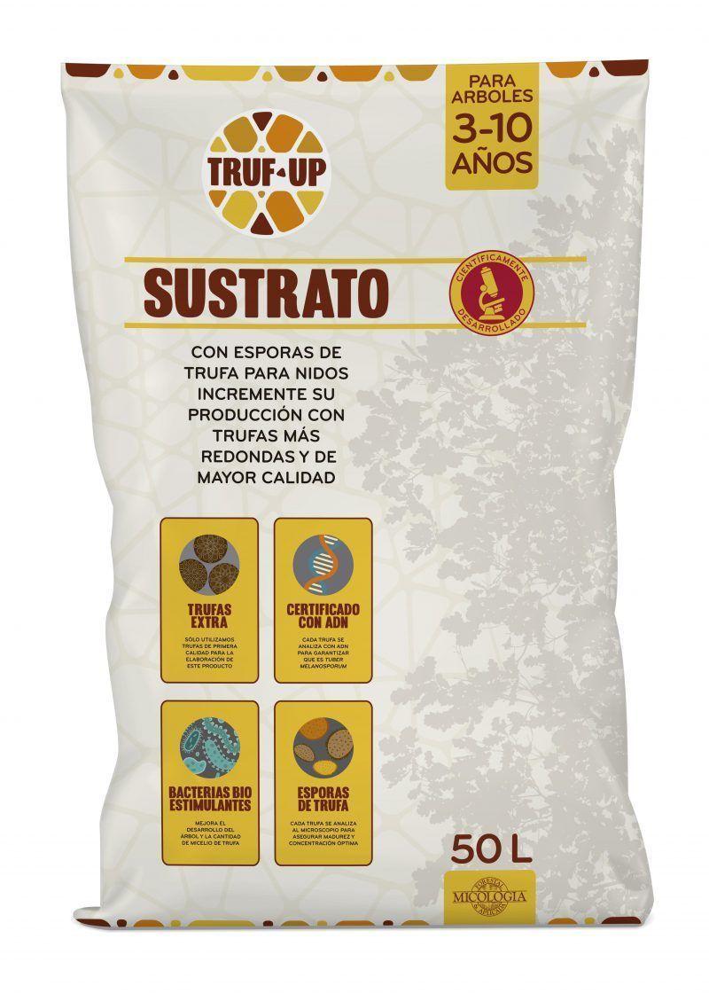 truf-up sustrato trufas