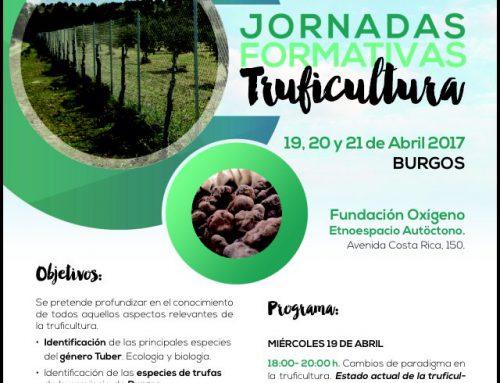 Nuevas jornadas truficultura en Burgos