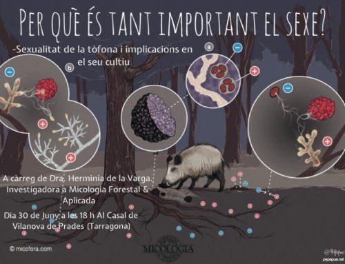 damos una nueva ponencia sobre sexualidad de la trufa y aplicaciones en truficultura