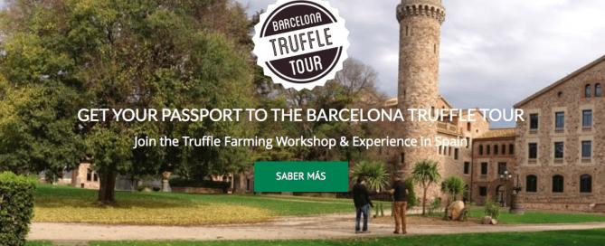 curso truficultura y cultivo trufas en Barcelona